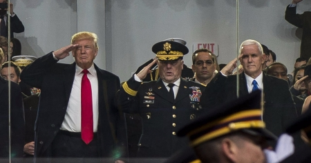 Desfile militar ordenado por Trump