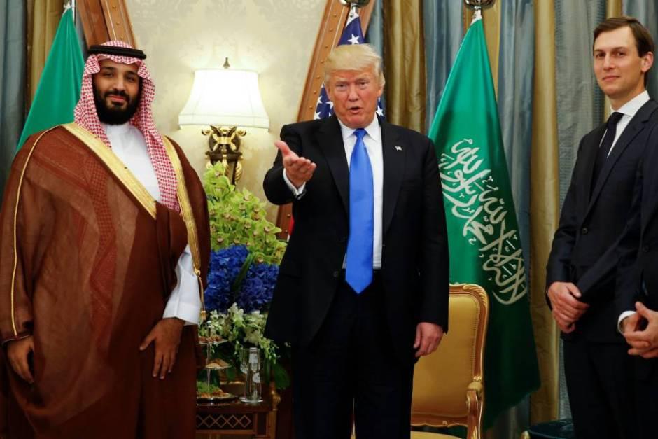 Trump, MBS y su yerno