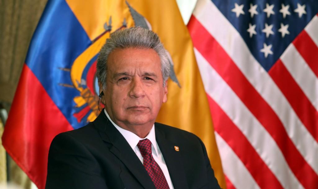 Resultado de imagen para Lenín Moreno en estados unidos