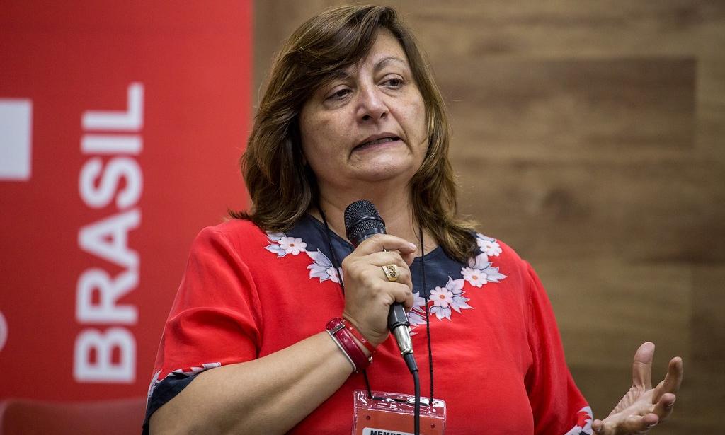 Mónica Valente, secretaria de Relaciones Internacionales del PT. Ph. Prensa Pt