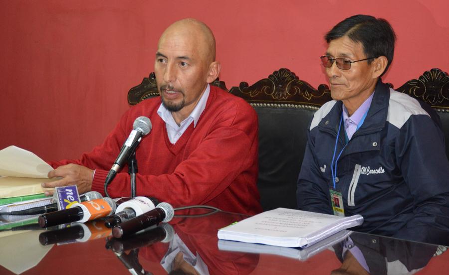 Remberto Calani, diputado nacional por el MAS, Bolivia.